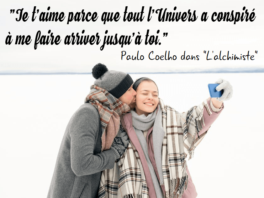 citation je t'aime univers coelho